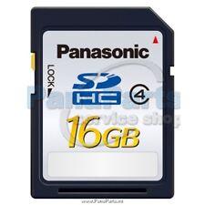 PANASONIC GENUINE SD SDHC MEMORY CARD 16GB CLASS4 FOR DIGITAL CAMERAS