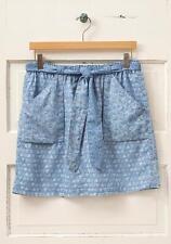 NWT MATILDA JANE MIXED PRINT Paisley Blue Skirt Women's Medium 6 8 Hello Lovely