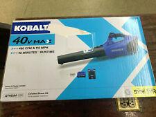 Kobalt 40V Lithium Ion 480-Cfm Brushless Cordless Leaf Blower w/Battery&Charger