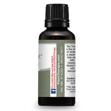 Tea Tree (Melaleuca) Essential Oil 30 ml (1 oz) 100% Pure, Therapeutic Grade