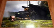 Poster A3 Como entrenar a tu dragón / How To Train Your Dragon 01