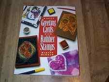 5 Rubber Stamping Craft Books  PB ILLUS  1993-2001