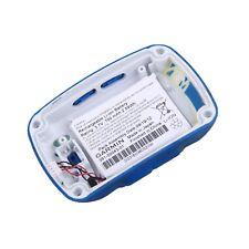 ORIGINALE Garmin Edge 500 Retro Case COPERCHIO INFERIORE CON BATTERIA Blu/Bianco