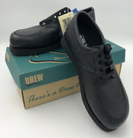 Drew Fitter Women's Shoes Black Calf 9.5 3E Vibram Wide Fit New With Tags