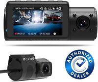Vantrue N4 Dash Cam 3 Channel 1440P Front & 1080P Inside & 1080P Rear Dash Cam