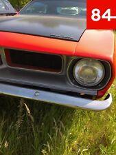 +Plymouth Gran Fury Volare Duster Barracuda Cuda 2x Scheinwerfer E-Prüfzeichen+