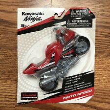 Kawasaki Ninja Moto Speed Motorcycles Color Red
