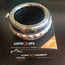 EOS-FX Anello adattatore per obiettivo Canon EOS EF S per Fujifilm X-T4 X-T3 X-T2 X-T1 X-M1 X-A7 X-A5 X-A3 X-A2 X-A1 X-A10 X-E3 X-E2 X-E2S X-H1 X-E1 X-Pro2 X-Pro1