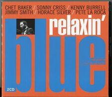 RELAXIN' BLUE   2 CD's   JAZZ SAMPLER   CHET BAKER / SONNY CRISS / PETE LA ROCA