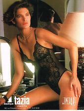 PUBLICITE ADVERTISING 044   1986   LA PERLA   sous vetements corset  4