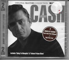 Johnny Cash ~ 2 Complete Albums Original Collection (2-Disc, CD) NEW & Sealed