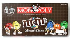 RARE PARKER BROTHERS MONOPOLY M & M COLLECTORS EDITION BRAND NEW