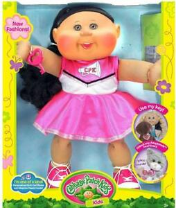 """Cabbage Patch Kids 14"""" African American Cheerleader Fashion"""