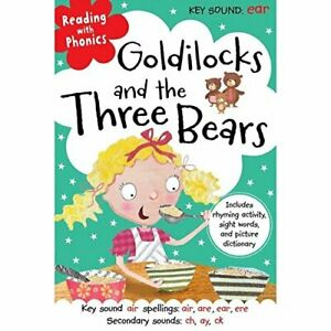 Reading with Phonics Goldilocks and the Three Bears Book The Cheap Fast Free