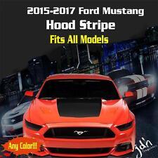 2015 2016 2017 Ford Mustang Hood Racing Stripe Vinyl Decal Sticker GT 5.0 Rally