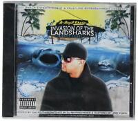 D-BOY P CHASE Invasion Of Landsharks Mixtape 1 SEALED CD Gangsta Rap w/ Yukmouth