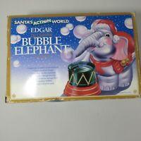 Vintage Edgar Bubble Elephant Ornament New Kurt Adler Santa's Action World