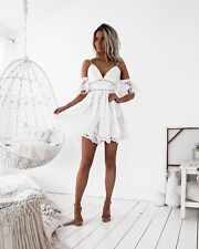 WHITE NARNIA COCKTAIL DRESS
