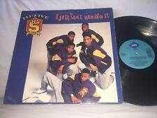 HI-FIVE - I JUST CAN'T HANDLE IT - 1990 JIVE RECORDS RAP / HIP-HOP LP