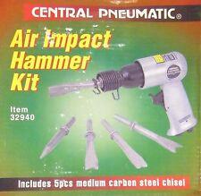 Central Pneumatic 32940 Air Impact 150mm Hammer Kit Airchisel