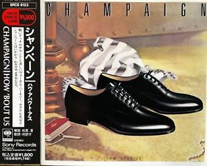 """CD CHAMPAIGN """"How 'bout us"""" James Mack - JAPAN Pressung Jazz"""