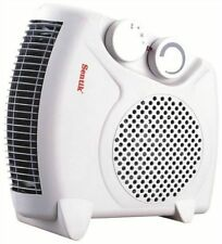 UPRIGHT ELECTRIC FAN HEATER 2KW 2000W PORTABLE 1KW SMALL SILENT FLOOR HOT COLD