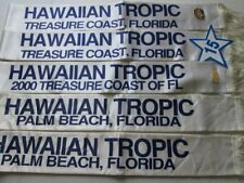 BEAUTY PAGEANT SASHES & Hawaiian Tropic Contest Pins Palm Beach FL Costume Lot