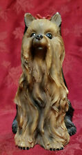 Critters Resin Yorkshire Terrier bank Very Good Used Condition