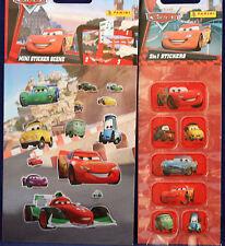 """** CARS ** 1 Arc"""" 2in1 sticker"""" ** 1 Arc """"mini-scène-sticker"""" ** panini"""