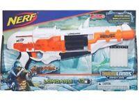 Brand New NERF N-Strike DoomLands Impact Zone LONGARM Dart BLASTER
