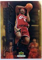 2003 03-04 Upper Deck Freshman Season Collection Lebron James Rookie RC #46 CAVS