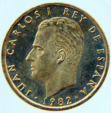JUAN CARLOS I 100 PESETAS 1982 KM-826 (CARTUCHO/MINT ROLL)
