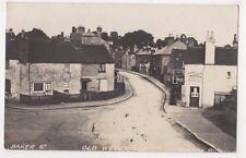 Baker Street Weybridge Surrey 1912 RP Postcard B726