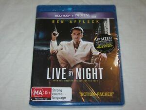Live By Night - Ben Affleck - Brand New & Sealed - Region B - Blu Ray