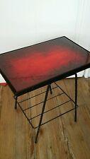 Table basse vintage années 50 60 design bout de canapé sellette