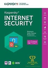 Kaspersky Internet Security 2016 (Retail) (3) - Full Version Software for Windows/Mac (KL1941ABCFS1621UZD)
