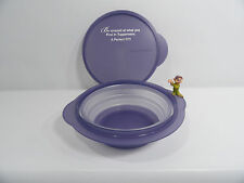 New Tupperware Flatout Purple Printed Show Prop 4 Cup /950mL