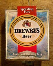 Vintage Drewry's Beer Bar Tavern Lantern Lighted Sign Chicago Illinois