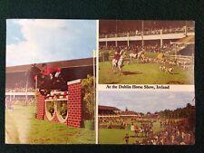 Postcard at the Dublin Horse Show Ireland Penman Cards 374 Salus Press