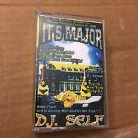 RARE DJ Self It's Major NYC Brooklyn Hip Hop Cassette Mixtape 90s Rap Tape