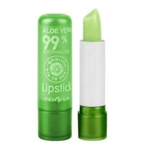 Womens Aloe Vera Discolored Lip Balm Moisture Hydrate HO Lipstick Car T1Y5