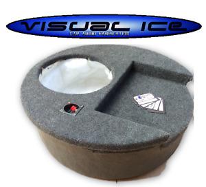 SPARE WHEEL AMP / SUB ENCLOSURE BOX FALSE FLOOR 8 10 12 ALPINE JL JBL MTX JVC
