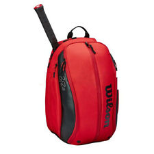 Wilson Roger Federer Dna Tennis Backpack Red Gym/Badminton/Squash Wr8005301001