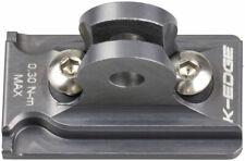 K-EDGE NiteRider Adapter: for K-EDGE Go Big Mounts and Combo Mounts, Gun Metal