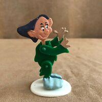 Dopey Dwarf MARX Vintage Disney Snow White snap-eeze figure 1960 toy dwarves