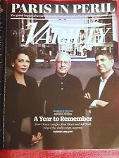 VARIETY MAGAZINE NOVEMBER 2015 UNIVERSAL PICTURES REIGN PARIS IN PERIL TERRORISM
