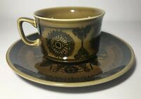 Vintage Mid Century Scandinavian Tea Cup And Saucer Mug And Dish Norway