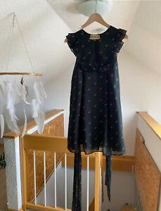 Wildfox - kurzes Kleid - schwarz mit Kirschen - M