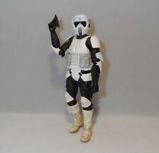 """Star Wars 6"""" Black Series Scout Trooper Loose Complete"""
