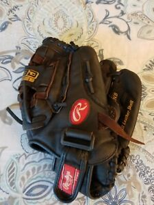 Rawlings 12.5'' Highlight Series Youth Fastpitch Glove HFP125BRNB for righties